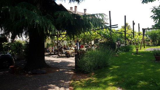 Andriano, Italy: Ingresso al Garten