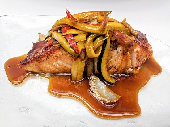 Costa Med: Honey Roasted Salmon