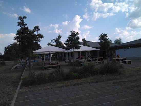 Hamm, Germany: Sitzgelegenheiten am Shop
