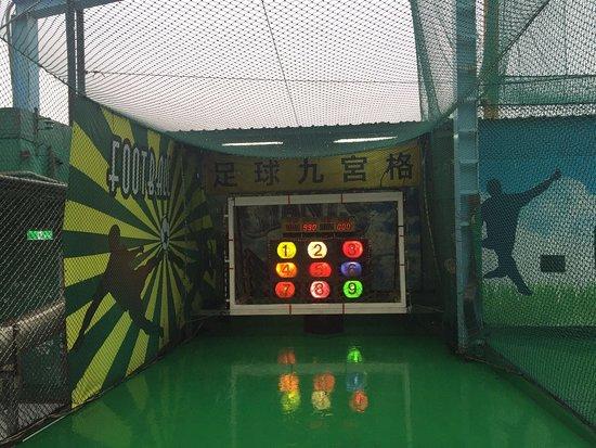 大联盟棒垒球打击场