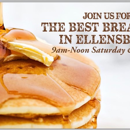 Wing Central's Roadhouse Grill: Best breakfast in Ellensburg