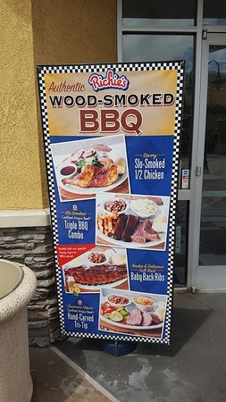 Richie's Diner: Richies BBQ Specials