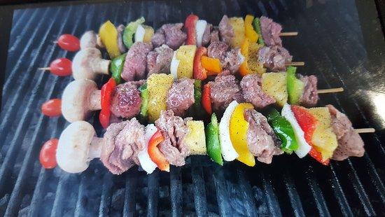 Richie's Diner: BBQ Shish Kabobs