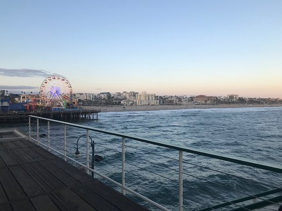 Santa Monica Pier: ピア②