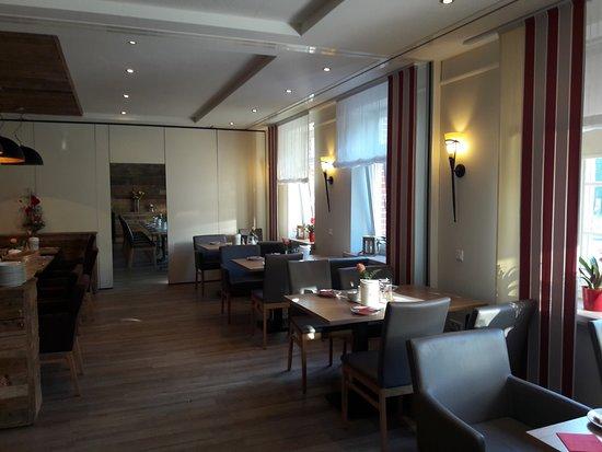 Gasthaus Kempermann : salle du petit déjeuner