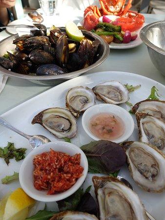 Rustico, Canada: 好吃的海鮮