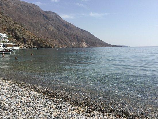 Loutro, Grecia: Nydelig liten strand