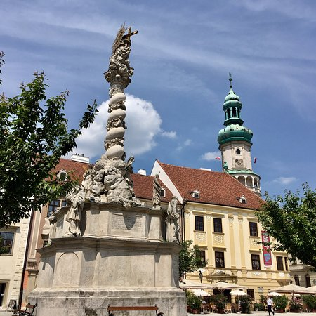 the most beautiful statues of Sopron