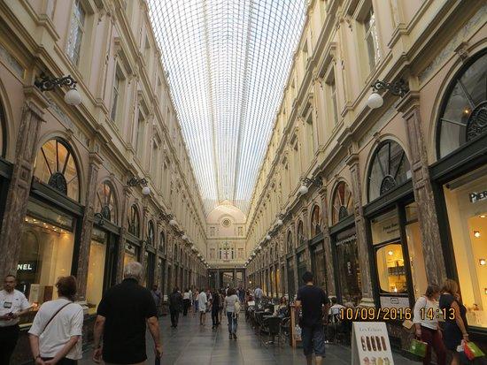 Les Galeries Royales Saint-Hubert: hermosas
