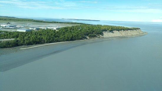 Ellison Air, Inc: Anchorage coastline