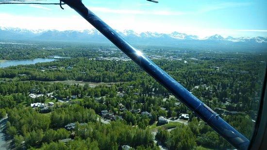 Ellison Air, Inc: Distant glacier