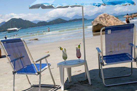 Restaurante Prazeres Do Mar: Serviço de praia