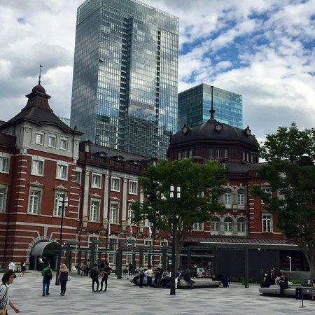 Tokyo Central Railway Station ภาพถ่าย