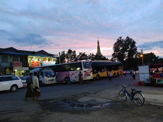 JJ Express: Aung Min Ga Lar Bus Station