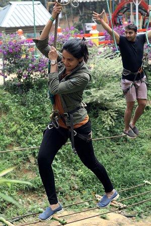 Dreamland Adventure : rope walk