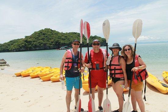 แกรนด์ ซี ดิสคอเวอรี่: Go to kayaking