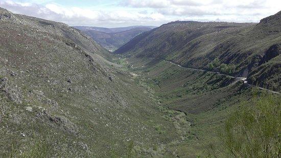 Glacial Valley in the Serra da Estrela Natural Park