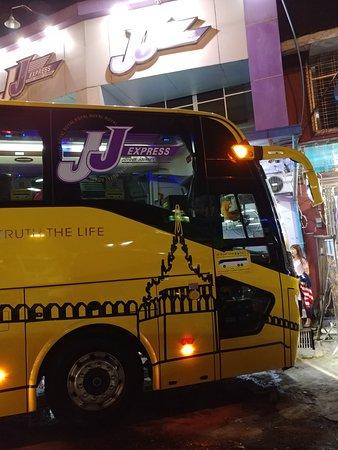 JJ Express: Fancy Bus!