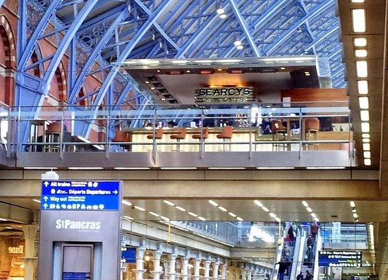 圣潘克拉斯国际车站照片