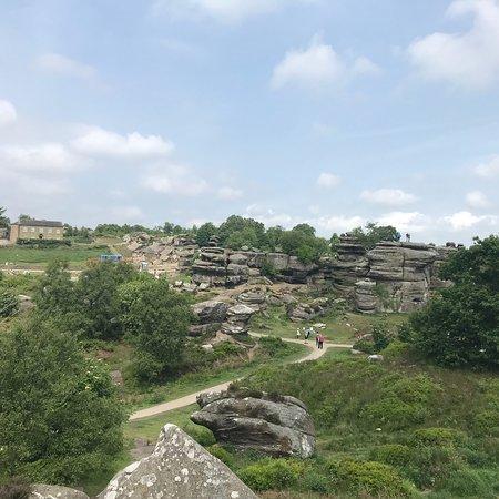 Brimham Rocks ภาพถ่าย