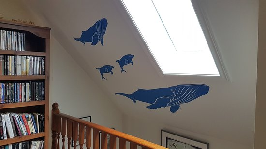 "Sandringham, Canada: ""Prints of Whales"" on the wall"
