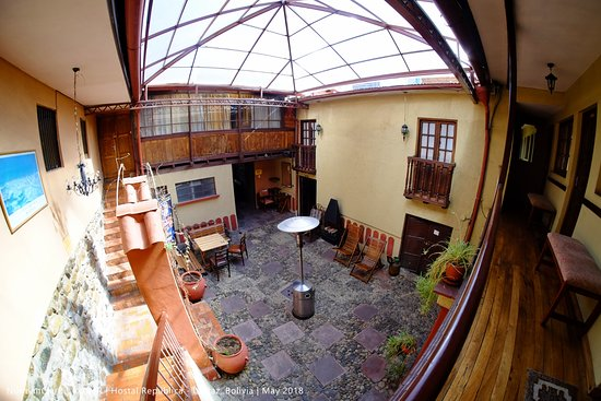 Hostal Republica: The Second Courtyard (Covered)