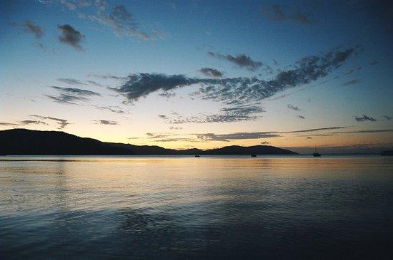 Wyspa Long, Australia: 美麗夕陽