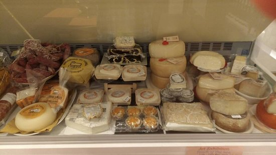 Panzano in Chianti, Italien: Salumi e formaggi