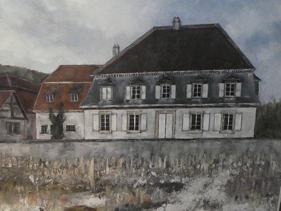 """Schlossl Oberotterbach: das """"Schlössl"""" gemalt"""