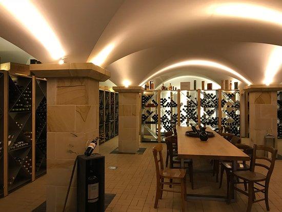 Schlossl Oberotterbach: Weinprobierkeller