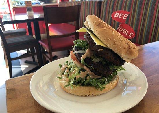 Warwick, Australia: Double Beef Burger