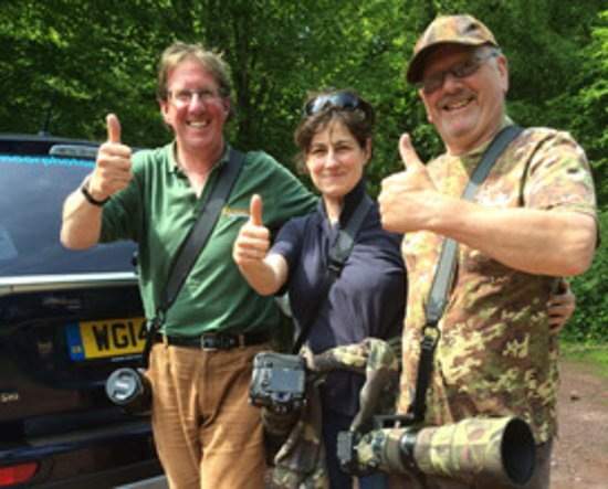 Exmoor Photography Course: Some happy customer during the Red Deer Rut Special Photography Course