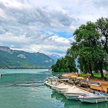 Lac d'Annecy ภาพถ่าย