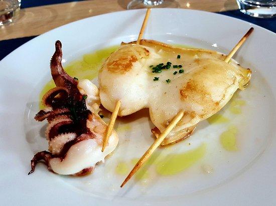 Le Bistrot du Cap: grilled squid