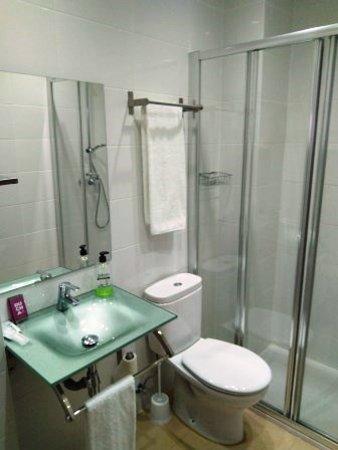 Artxanda Hotel: Ducha