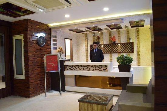 Hotel Uday Palace: RECEPTION