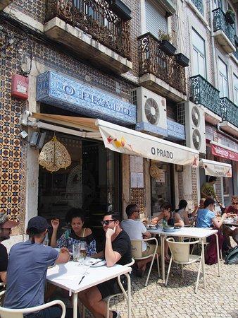 O Prado: 店の外観