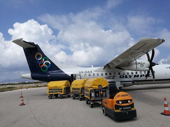 AEGEAN: Au départ de l'aéroport de Naxos