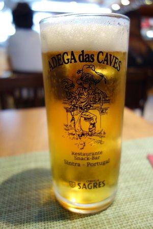 Adega das Caves: ビール