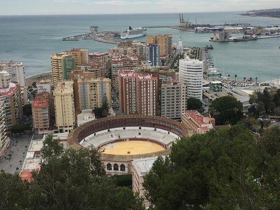 Parador de Malaga Gibralfaro : Great view