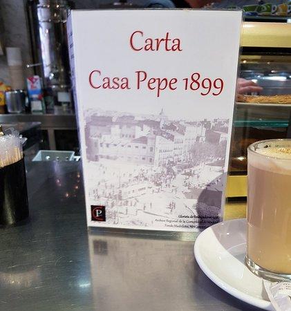 Casa Pepe 1899 near Glorieta Embajadores.
