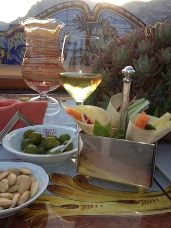 Cooking Vacations Italy : Aperitif Amalfi Coast