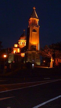 Balata Cathedral (Sacré-Coeur de Balata): Vue de la route
