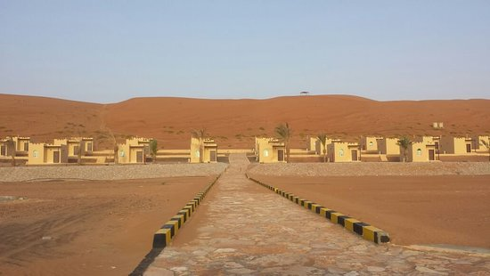 Ash-Sharqiyah Governorate, Oman: Alsalam camp