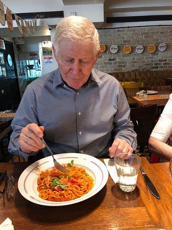 Landwer Cafe: פסטת העגבניות