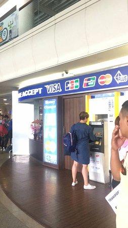 atm corner at bali airport デンパサール ketut bali driversの写真