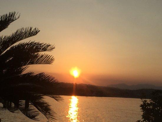 Ristorante Esplanade: L'energia del Sole durante la cena