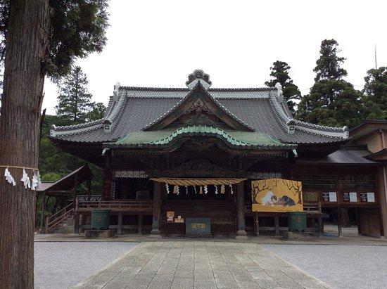 Yakyu Inari Shrine: 拝殿です