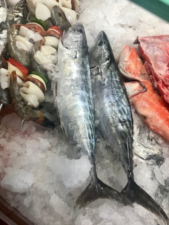 Baiuka Grill Restaurant: Cavala peixe Fresco