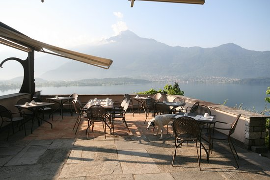 Trezzone, Italy: Breakfast area